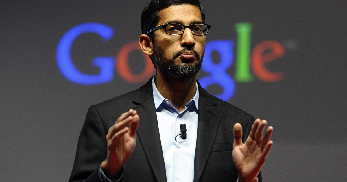 Google's Pichai becomes Alphabet CEO; Page and Brin step down